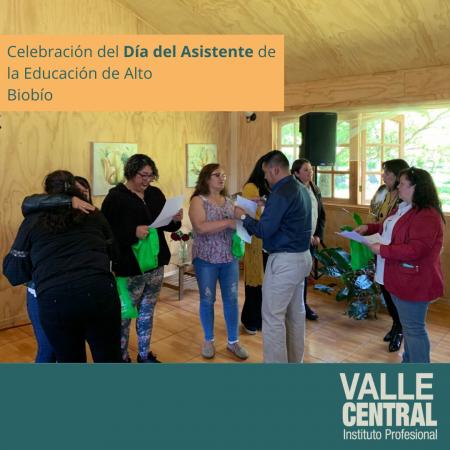 celebración del Día del Asistente de la Educación de Alto Biobío